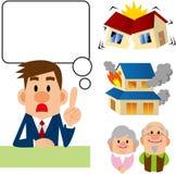 Insurance consultation Stock Photography
