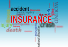 Insurance cover Stock Image