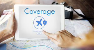 Insurance Coverage Mix Reimbursement Protection Concept Royalty Free Stock Images