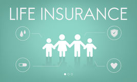 Insurance Coverage Mix Reimbursement Protection Concept Stock Images