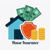 Insurance design Stock Photography