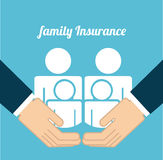 Insurance design Royalty Free Stock Images