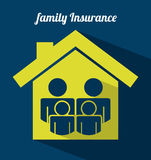 Insurance design Stock Photography