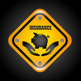 Insurance design Royalty Free Stock Photo