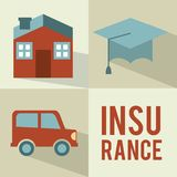 Insurance design Royalty Free Stock Photos