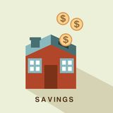 Insurance design Stock Images