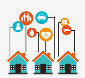 Insurance design Stock Image