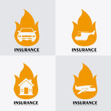 Insurance design. Royalty Free Stock Photos
