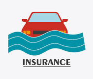 Insurance design. Royalty Free Stock Image