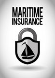 Insurance design Royalty Free Stock Photo