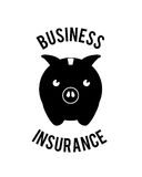 Insurance design Stock Image