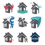 Insurance design, vector illustration. Stock Photos