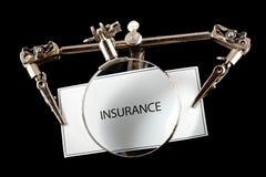 Insurance examination Stock Images