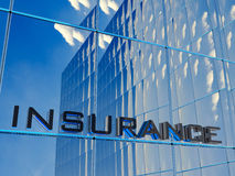 Insurance. Front view of an insurance building Royalty Free Stock Photography
