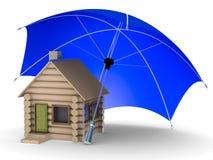 Insurance of habitation Stock Image