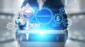 Insurance, health family car money travel Insurtech concept on virtual screen. Insurance, health family car money travel Insurtech concept on virtual screen stock image