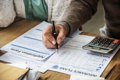 Insurance Health Risk Assessment Vitality Concept. Insurance Health Risk Assessment Vitality Stock Photos