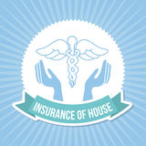Insurance of house Stock Photos