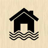 insurance icon design Royalty Free Stock Photos