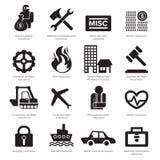 Insurance icon royalty free illustration