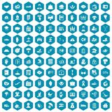 100 insurance icons sapphirine violet. 100 insurance icons set in sapphirine hexagon isolated vector illustration vector illustration