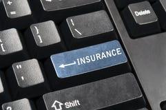 Insurance key Royalty Free Stock Images