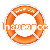 Insurance lifesaver Stock Images