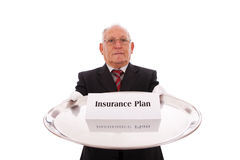 Insurance Plan Stock Image