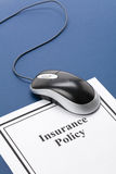 Insurance Policy. Document of Insurance Policy, Life; Health, car, travel,  for background Stock Images