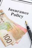 Insurance Policy Royalty Free Stock Photos