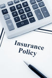 Insurance Policy stock photos