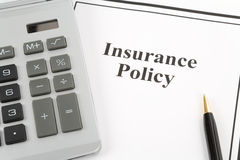 Insurance Policy Stock Photography