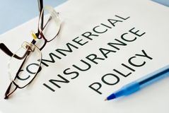 Insurance policy Royalty Free Stock Images
