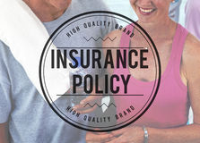 Insurance Policy Claim Protection Security Concept Royalty Free Stock Image