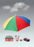 Insurance protection concept stock images