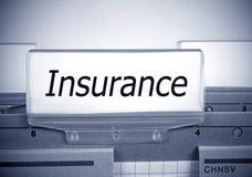 Insurance Register Folder Index Royalty Free Stock Images