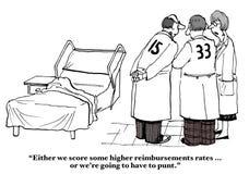 Insurance Reimbursement Rates Stock Photo