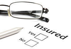Insurance or risk concept Stock Photography