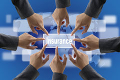 Insurance Risk Management Team Stock Photography