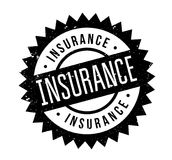 Insurance rubber stamp. Grunge design with dust scratches. Effects can be easily removed for a clean, crisp look. Color is easily changed Stock Images