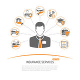 Insurance Services Concept Stock Images