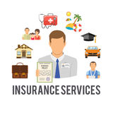 Insurance Services Concept Stock Photo