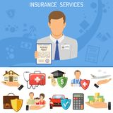 Insurance Services Concept Royalty Free Stock Image