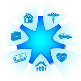 Insurance services Royalty Free Stock Image