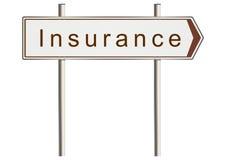 Insurance sign Stock Photo