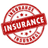 Insurance stamp Stock Photography