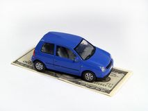 Insurance of the transport Royalty Free Stock Photography