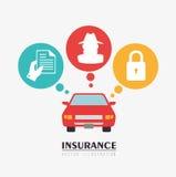 Insurances design Stock Photos