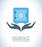 Insurances design Royalty Free Stock Image