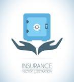 Insurances design Royalty Free Stock Image